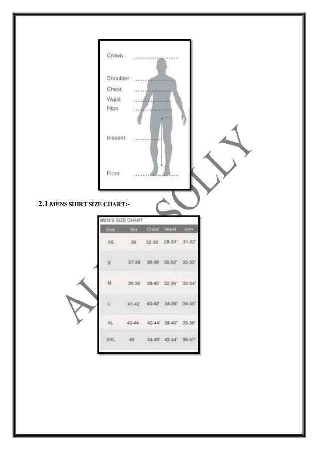 Trouser also size chart of allen solly rh slideshare