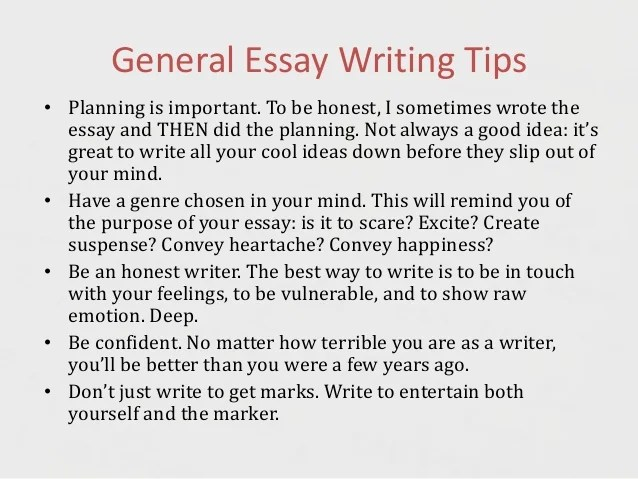 tips on writing creative essays  Creative Writing 101