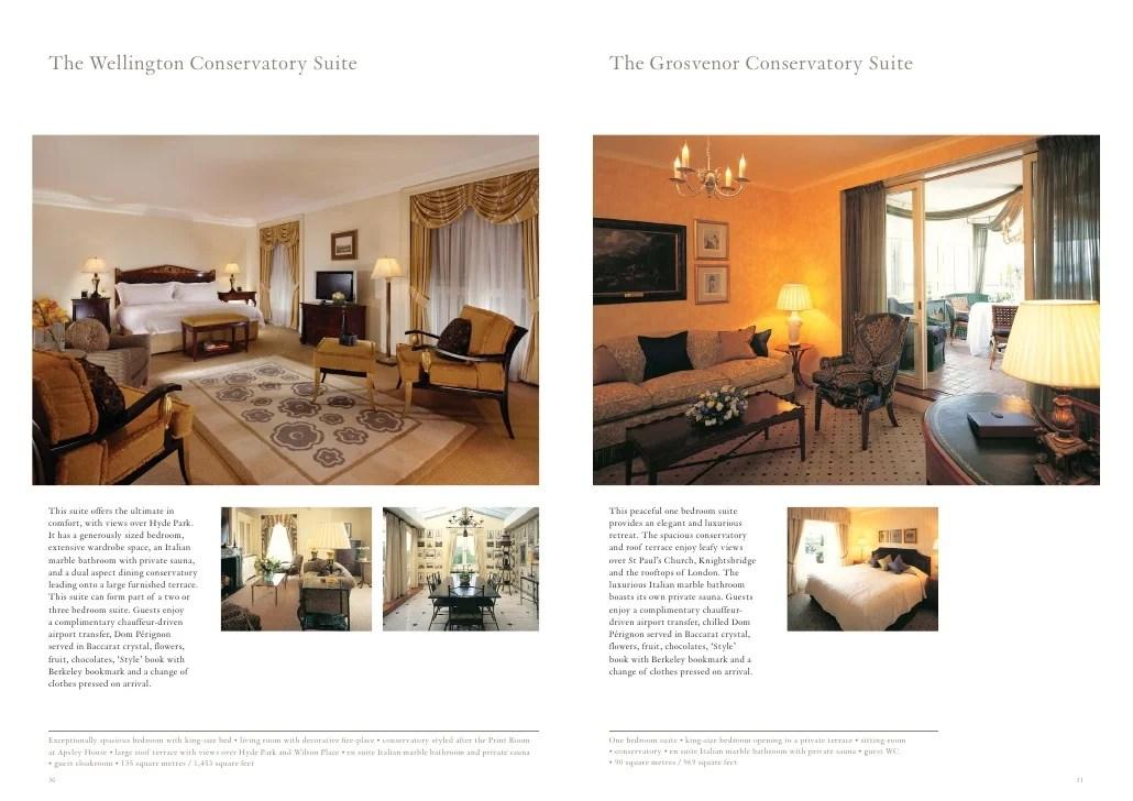 Suite Brochure The Berkeley Maybourne Hotel Group London