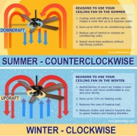 Which Way Should Ceiling Fan Turn In Winter | Mail Cabinet