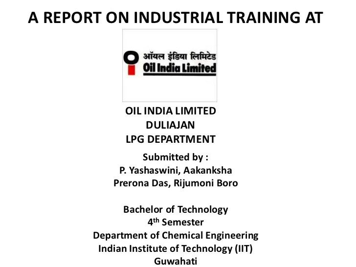 railway vocational training report pdf