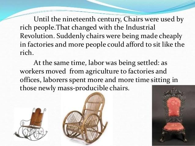 how are chairs made swivel chair purple it is plastic erdi karacal mechanical engineer 3