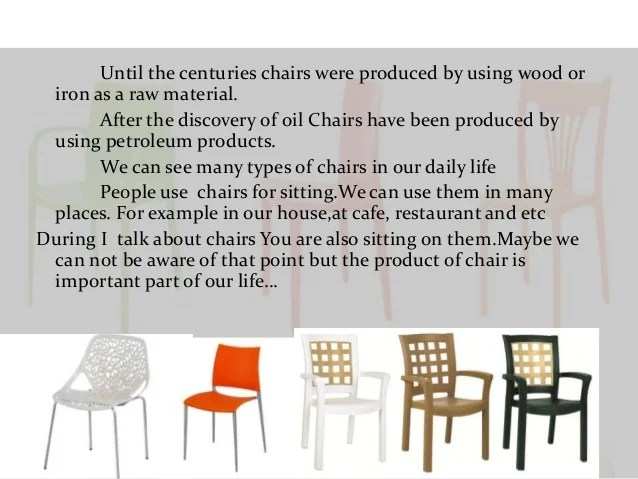 how are chairs made rocking chair diy plans it is plastic erdi karacal mechanical engineer 4 until the centuries