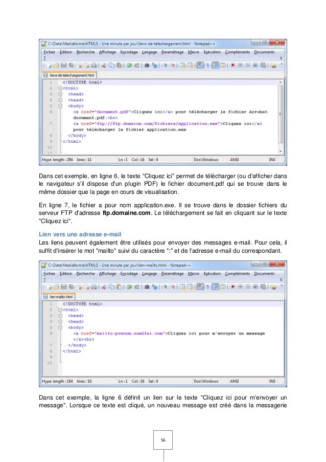Cours Html5 Css3 Javascript Pdf : cours, html5, javascript, Support, Tutoriel, Débuter, HTML5,, JavaScript