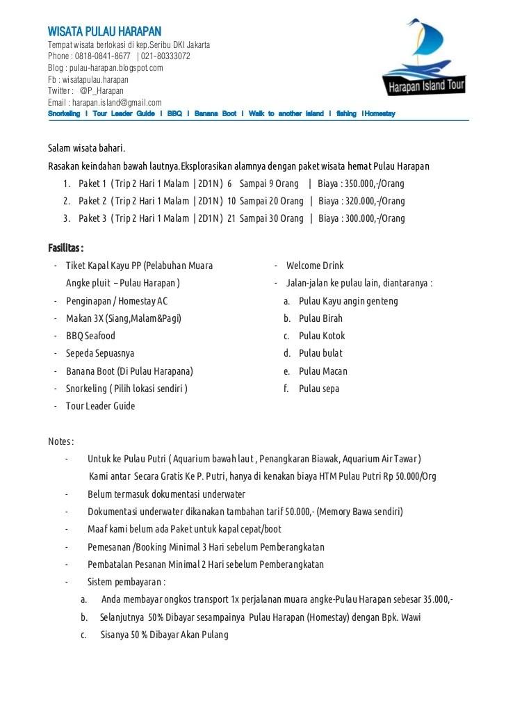 Contoh Proposal Penawaran Paket Wisata Pdf : contoh, proposal, penawaran, paket, wisata, Contoh, Proposal, Penawaran, Paket, Wisata, Berbagi