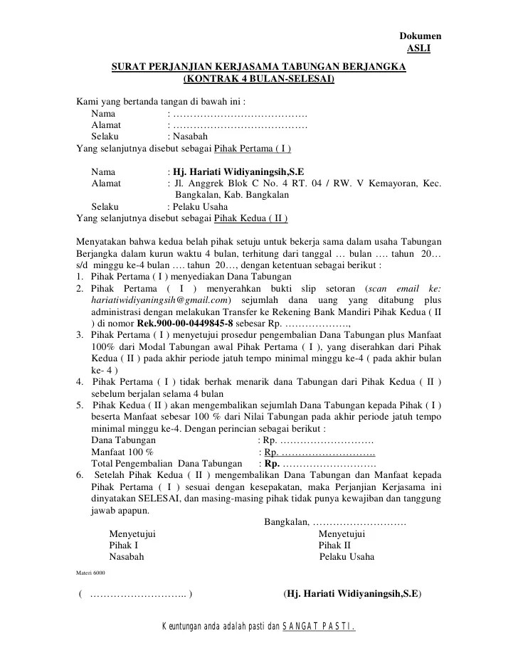 Contoh Surat Perjanjian Kerjasama Kemitraan Usaha : contoh, surat, perjanjian, kerjasama, kemitraan, usaha, Contoh, Surat, Perjanjian, Dagang, Ekspor, Impor