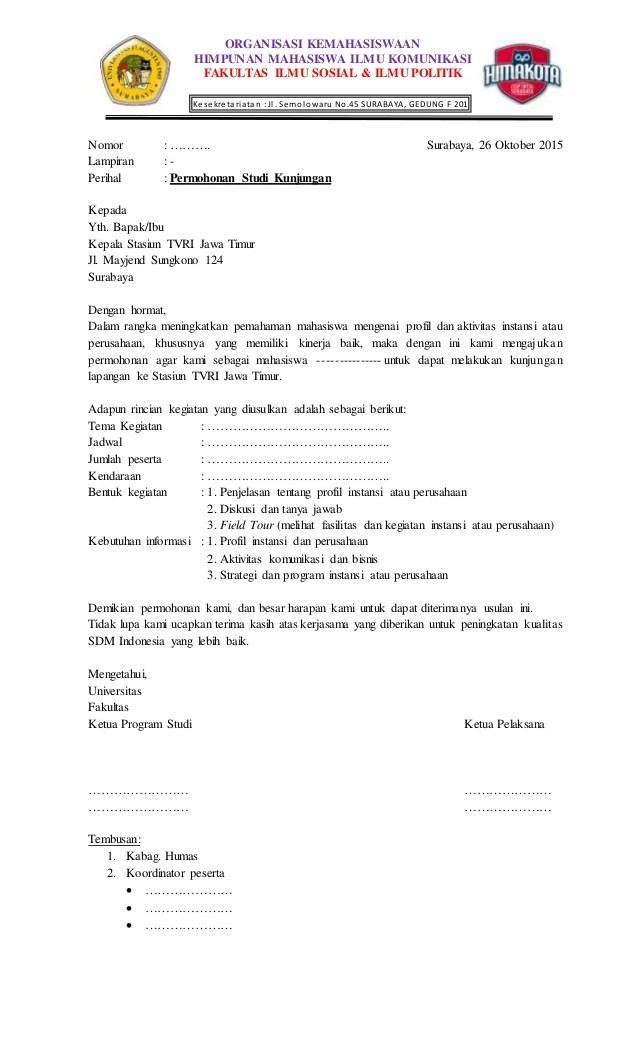 Contoh Surat Kunjungan Kerja Perusahaan : contoh, surat, kunjungan, kerja, perusahaan, Surat, Pengajuan, Kunjungan, Timur
