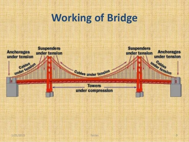 Suspension Bridge Diagram This Bridge Diagram Make