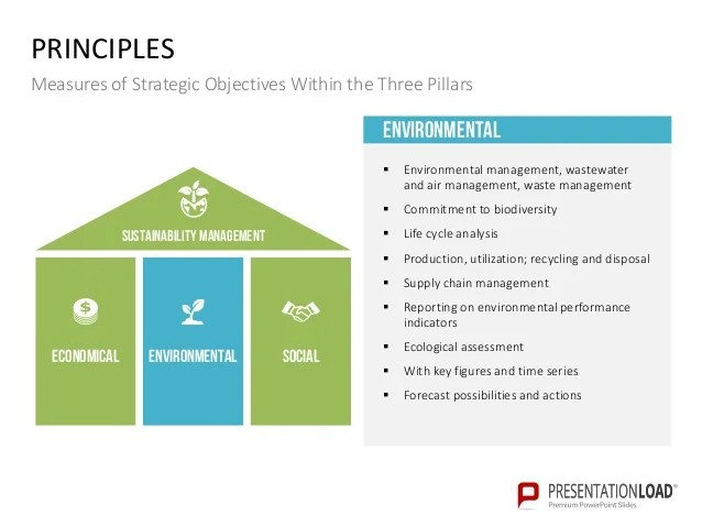 Sustainability Management PPT Slide Template