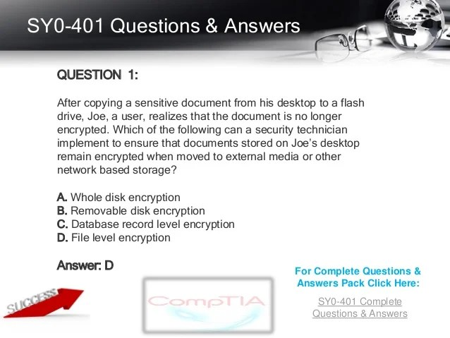 Questions Database Security Exam