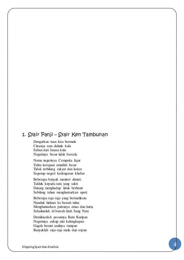 Syair Beserta Tema Dan Amanat : syair, beserta, amanat, Contoh, Syair, Sejarah, Beserta, Amanat, Cikimm.com