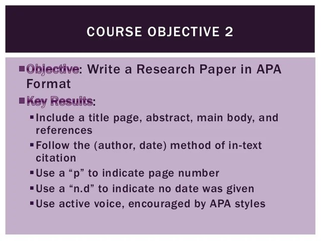 Professional And Technical Writing Objectives