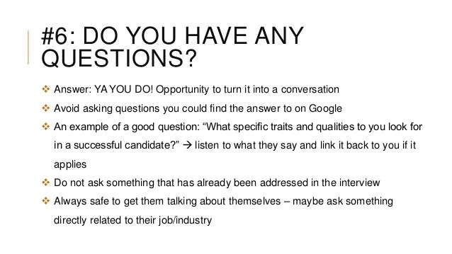 T8 Interviews