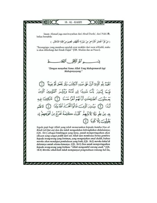 Terjemahan Surat Al Kahfi Ayat 29 : terjemahan, surat, kahfi, Surat, Kahfi, Terakhir, Artinya, ••▷