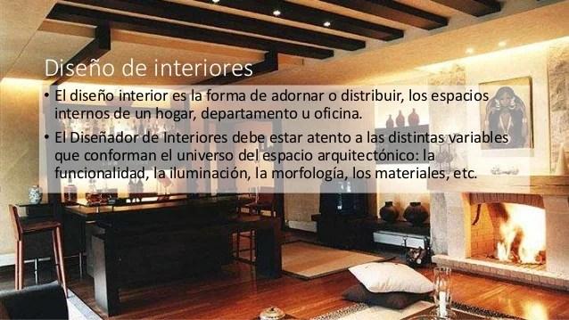 Diseo de interiores y ambientacin en la arquitectura