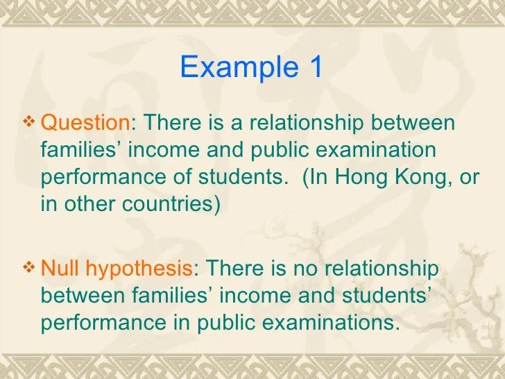 Task Of Correlation Research Questions