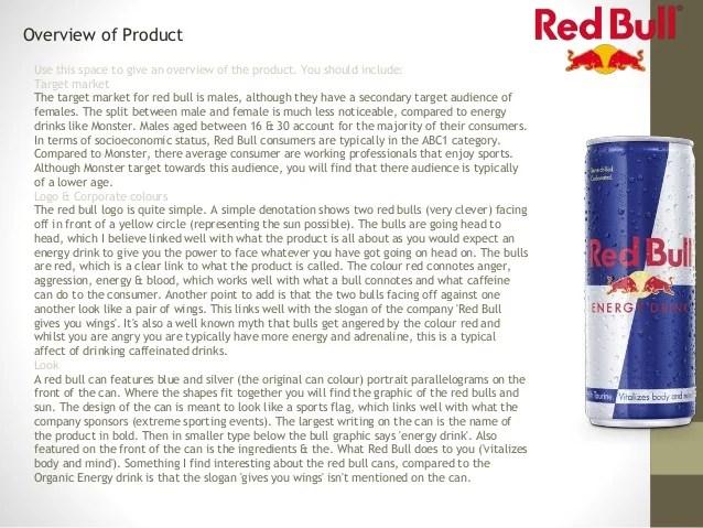 monster energy drink target market
