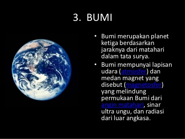 Tata surya gerak bumi dan gerak bulan tendik