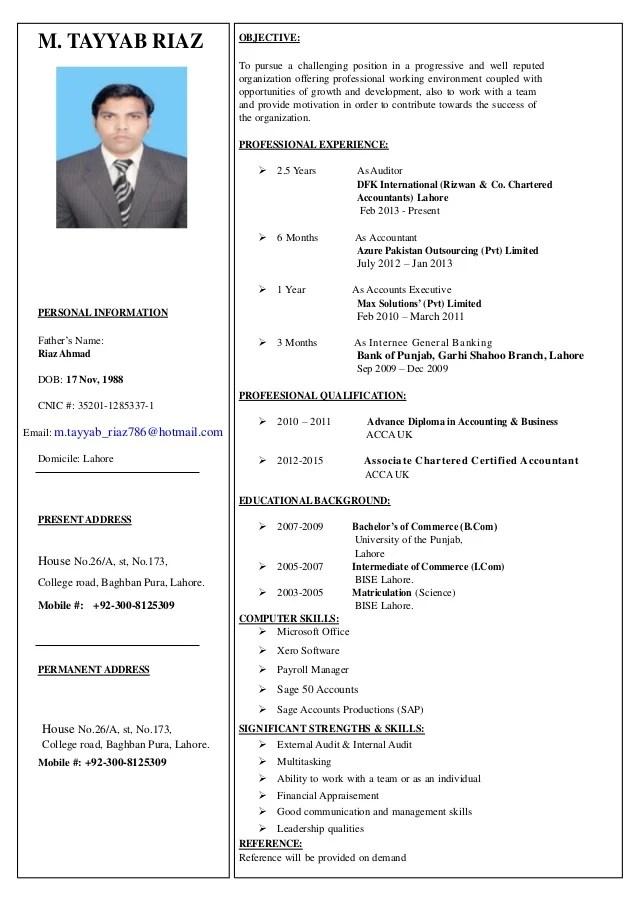 ACCA Affiliate CV