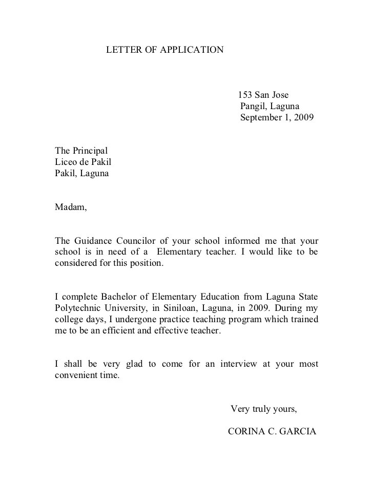 Cover Letter Sample For Lecturer Position | Resume Maker ...