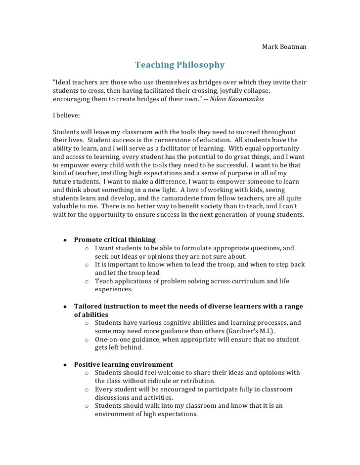 Philosophy of nursing essay