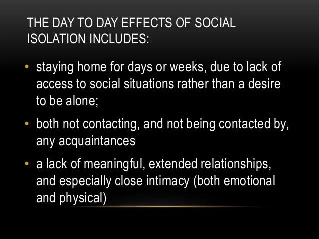 Technology Creates Social Isolation And Neurosis Brendan King