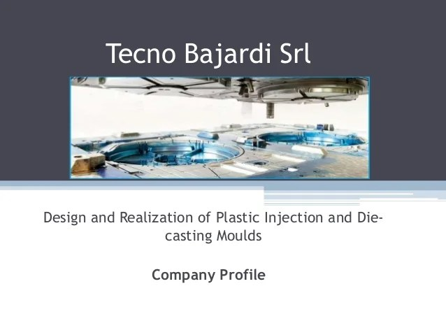 Tecno Bajardi Srl  Tecno Bajardi  Design and Realization