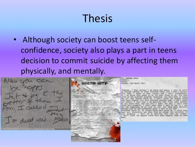 Teenage Suicide In Death By Landscape Essay Term Paper Writing