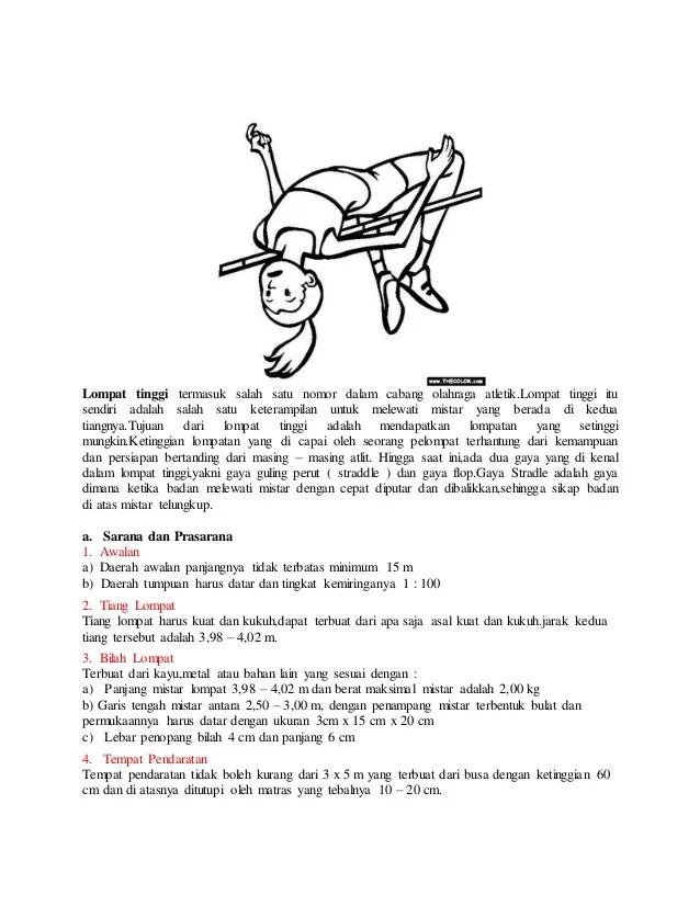 Pengertian Lompat Tinggi Gaya Straddle : pengertian, lompat, tinggi, straddle, Teknik, Dasar, Lompat, Tinggi, Straddle