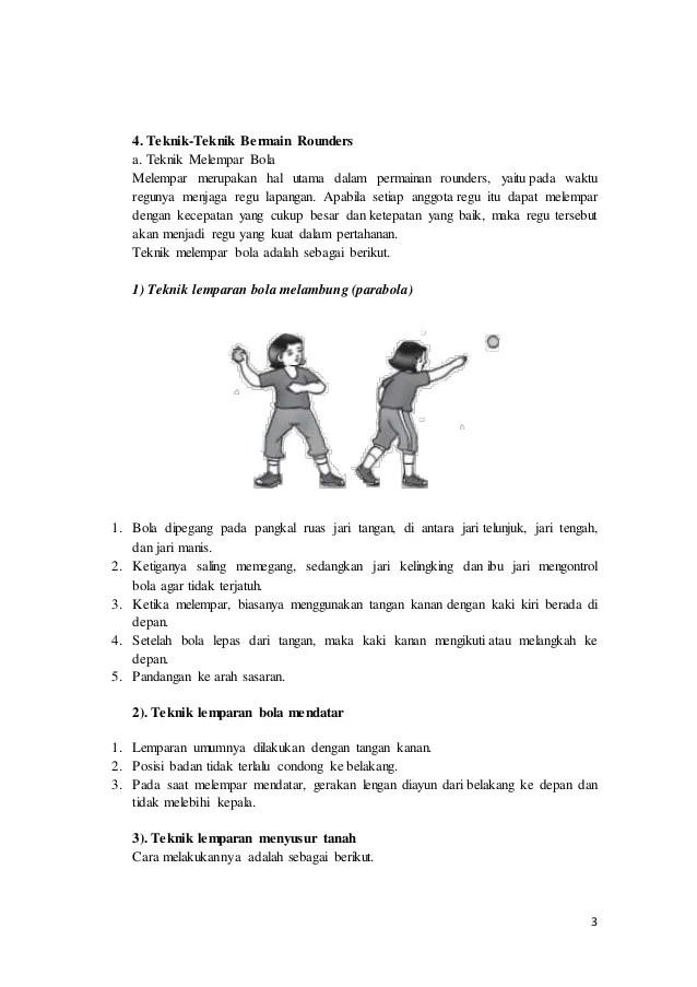 Peraturan Rounders : peraturan, rounders, Olahraga:, Tehnik, Dasar, Rounders