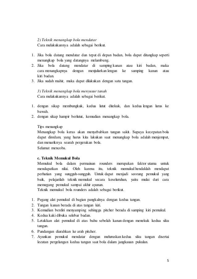 Peraturan Rounders : peraturan, rounders, Teknik, Dasar, Permainan, Rounders
