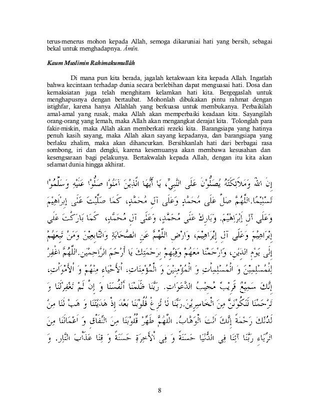 Teks Khutbah Idul Adha Bahasa Jawa 2018 Ketisyir