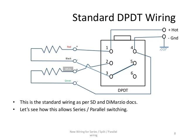 single subwoofer wiring diagram blower motor manual series / parallel for 4-conductor humbucker pickups