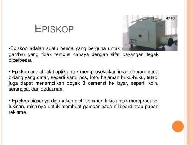 Teleskop periskop dan episkop 2