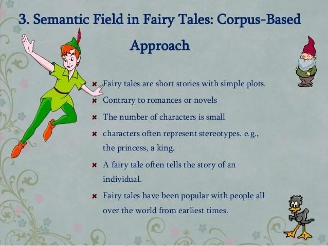 Semantic Field In Fairy Tales
