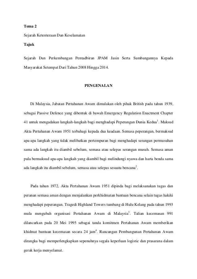Contoh Kerja Kursus Sejarah Tingkatan 6 Penggal 2 2015 Cute766