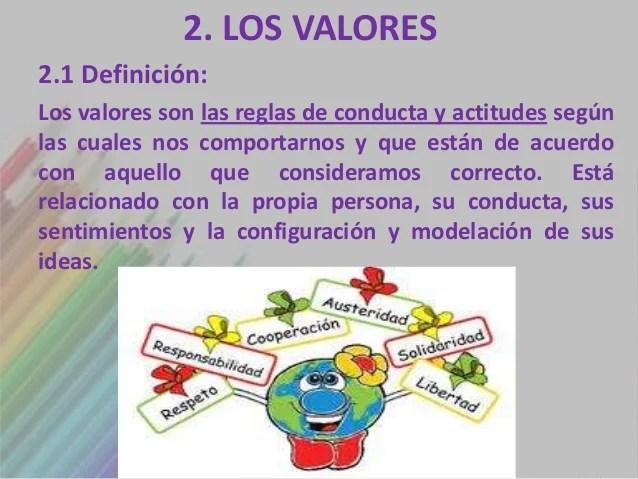 Tema 6 Los Valores
