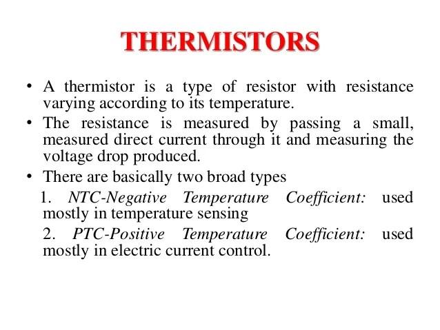 """""""Temperature Sensors"""" Thermocouple"""