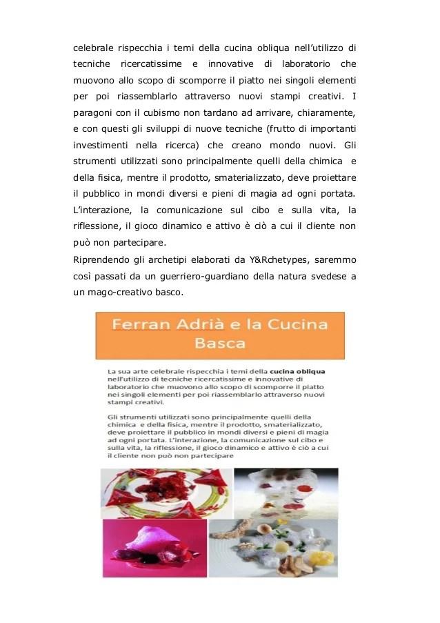 Tendenze e Stili della moderna gastronomia come comunicano i miglior
