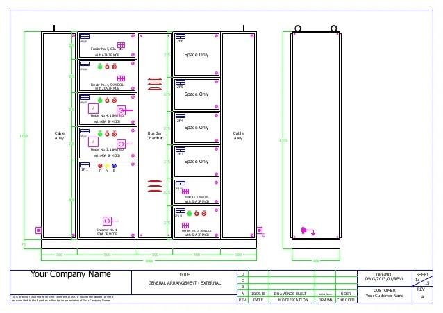 control wiring diagram of dol starter nutone bath fan mcc panel ga and bom sample 13