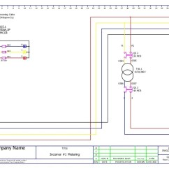 Control Wiring Diagram Of Dol Starter 6 Way Semi Trailer Plug Mcc Panel Ga And Bom Sample 5