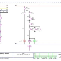 Control Wiring Diagram Of Dol Starter 04 Silverado Bose Radio Mcc Panel Ga And Bom Sample 6
