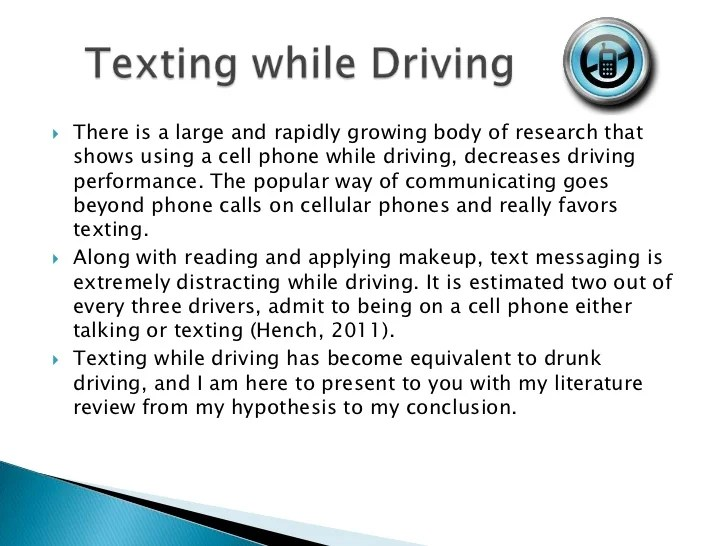 Texting The New Drunk Driving