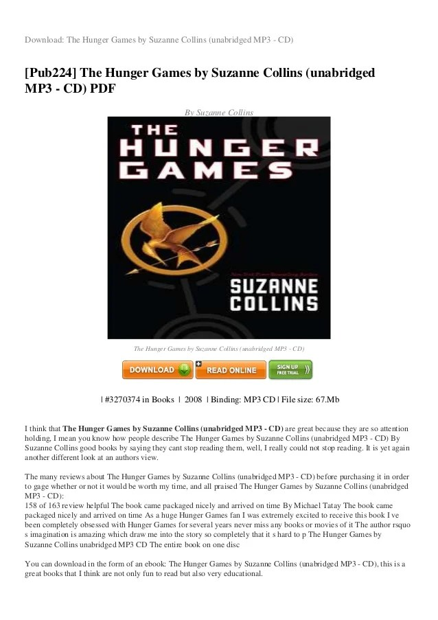 The Hunger Games Google Drive