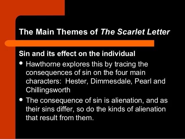 The scarlet letter ap essay questions