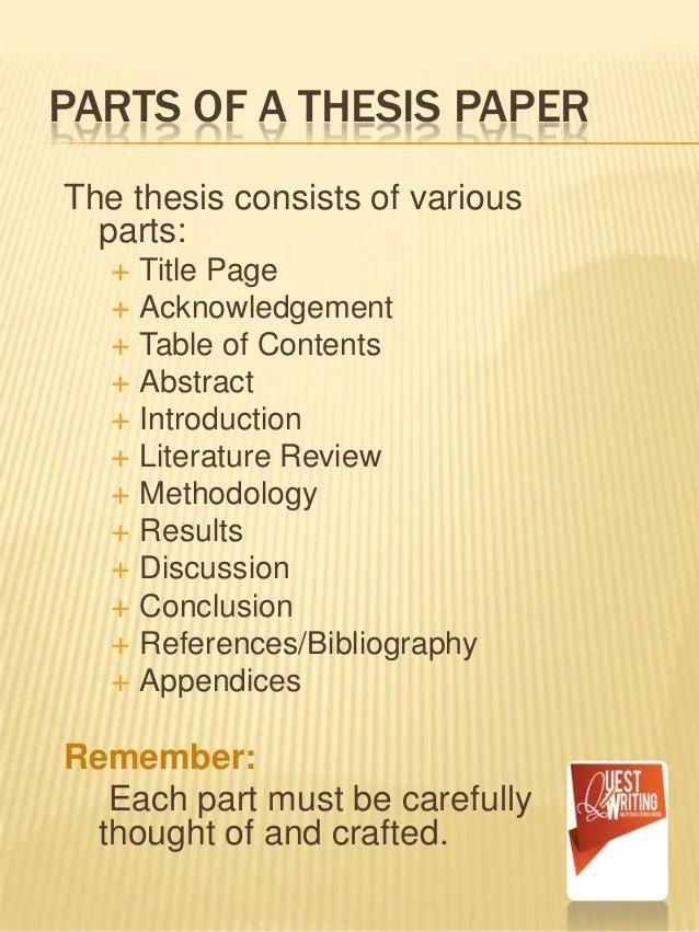 The ABC's Of Thesis Writing The Simplest Way To Learn