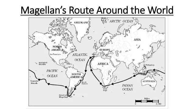 Hernan Cortes Exploration Route Map: Hernan Cortes Exploration Route Map