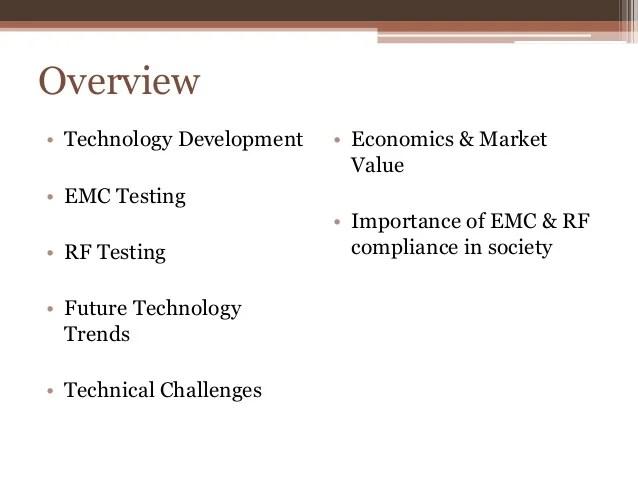 RF  EMC Testing in Todays World Beginner Info