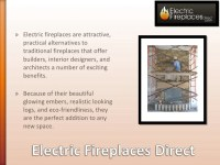 The benefits of electric fireplaces in new home construction