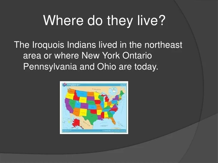Iroquois Indians Pictures Project